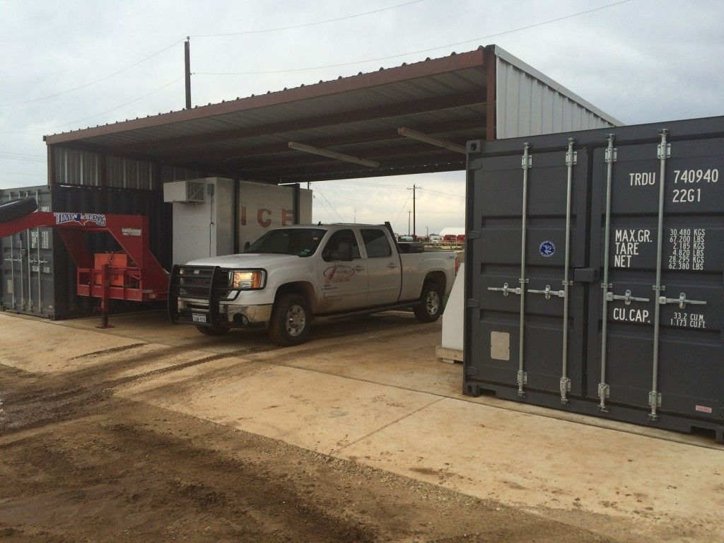 Steel Storage containers used by American Portable Storage ...