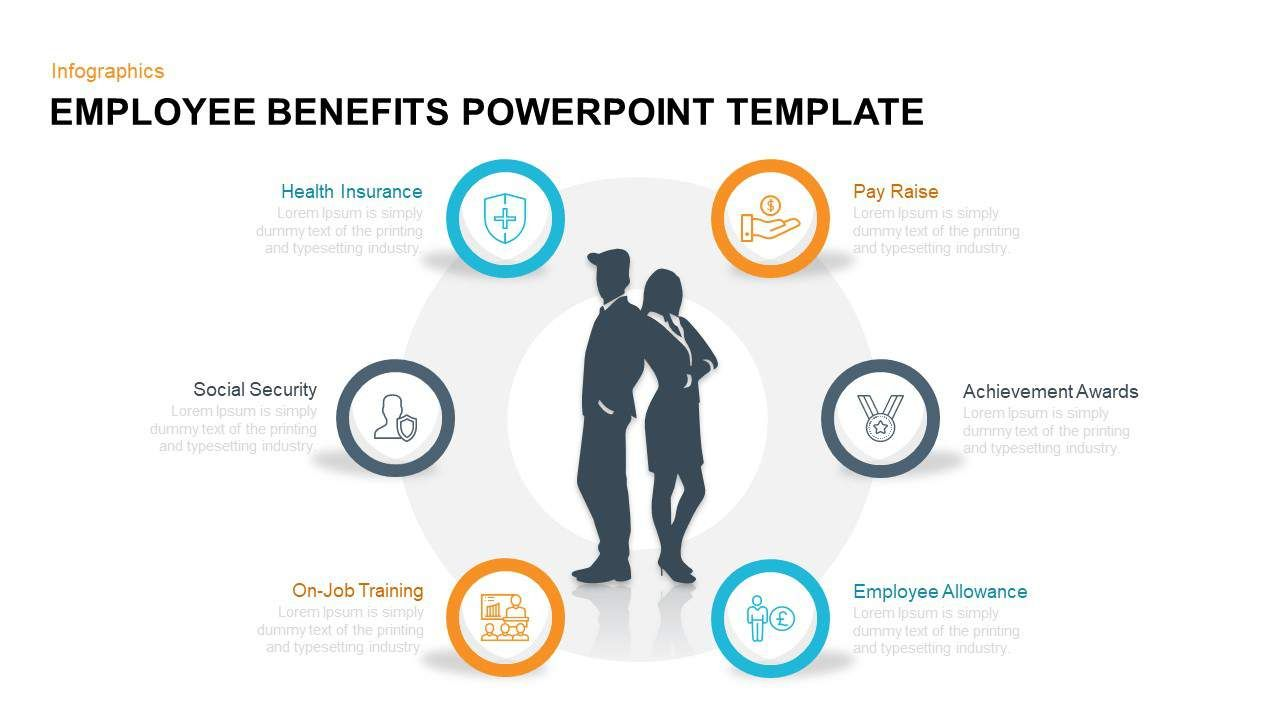 Employee Benefits Powerpoint Template And Keynote Within Employee