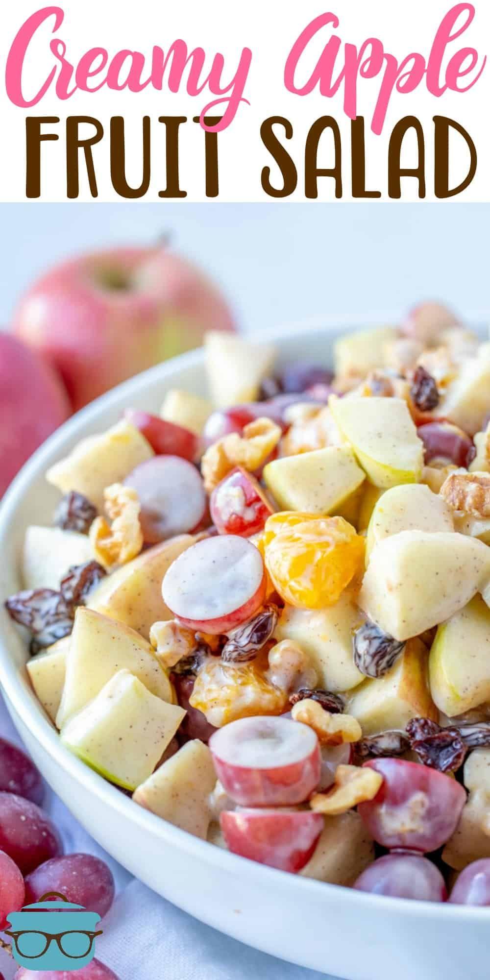 Apple Fruit Salad Video Recipe Easy Fruit Salad Recipes Fruit Salad Easy Fruit Salad Recipes