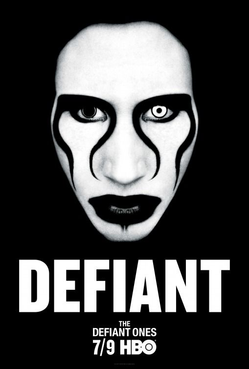 Click To View Extra Large Poster Image For The Defiant Ones Marilyn Manson Defiant Golden Age Of Hollywood