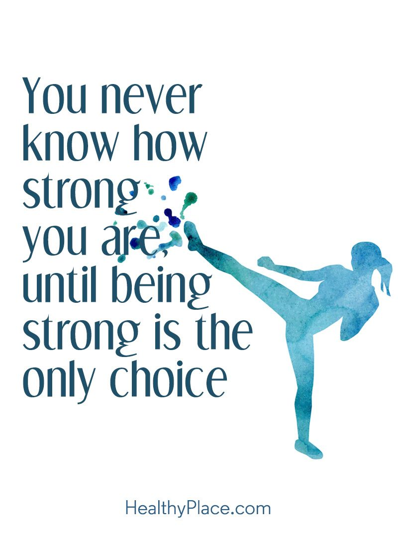 Self Confidence Quotes Stunning Selfconfidence Quote  You Never Know How Strong You Are Until