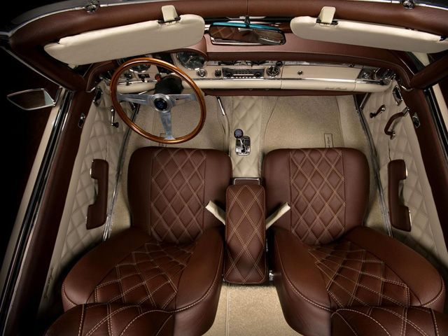 Brown Leather Seat Stitching Google Search Cars Pinterest