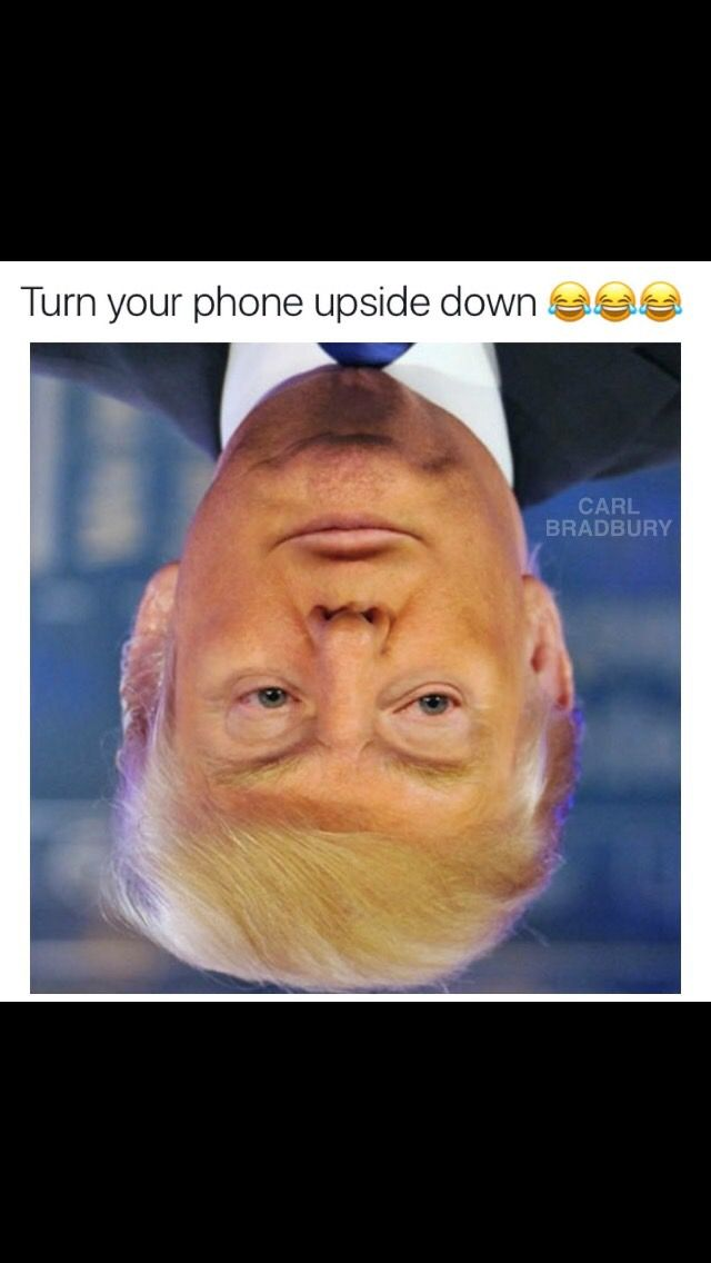 Turn Your Phone Upside Down Funny Mind Tricks Really Funny Memes Funny Jokes