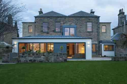 id e agrandissement maison 50 extensions esth tiques maisons anciennes agrandissement. Black Bedroom Furniture Sets. Home Design Ideas