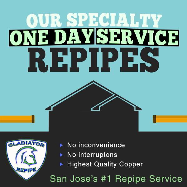 San Jose Bay Area S 1 Repipe Company