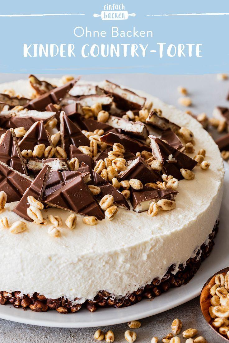 Kinder Country-Torte - einfache Kühlschranktorte | Die besten Backrezepte mit Gelinggarantie