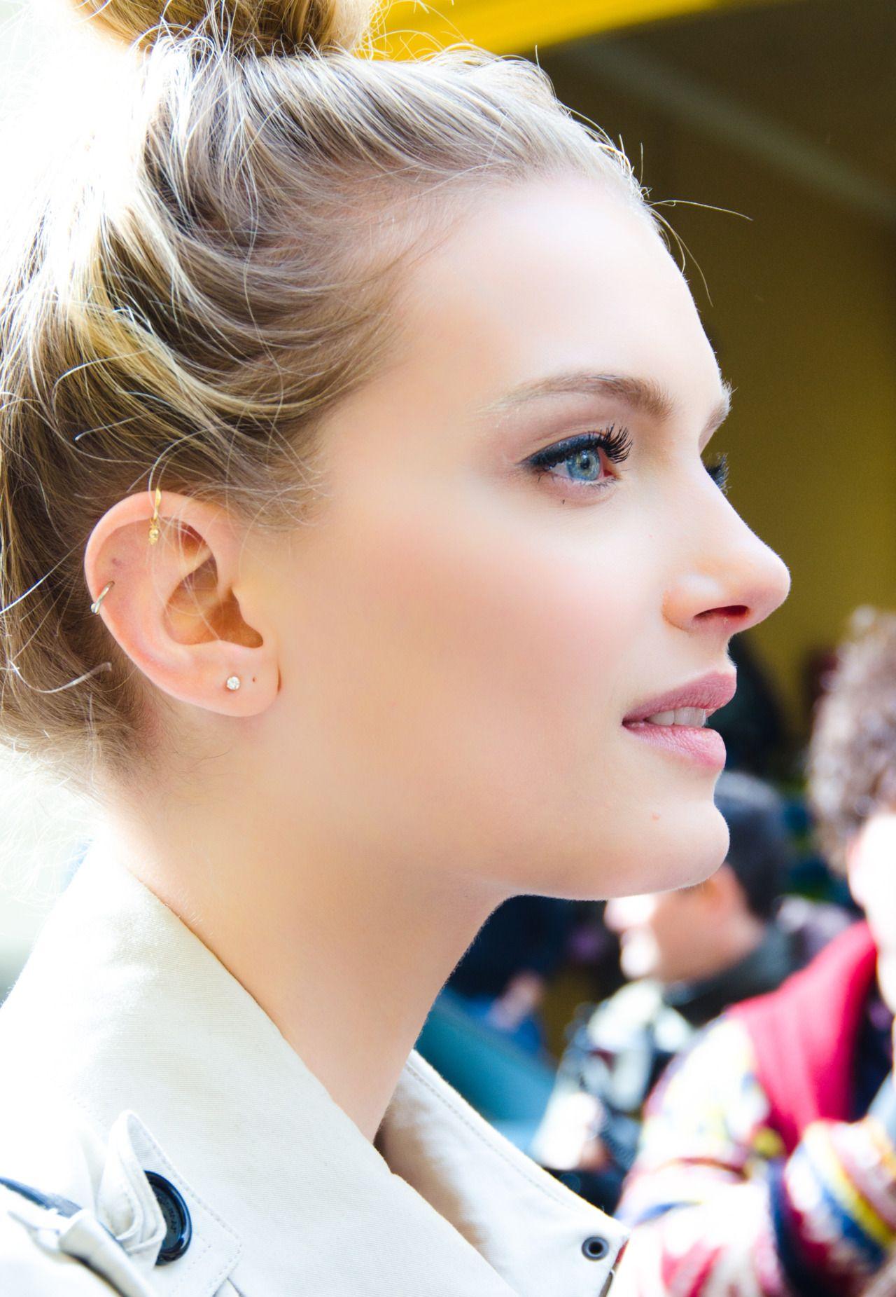 Ear piercing artist  Erin Richards  Pinterest  Adornments  Pinterest  Head games GQ