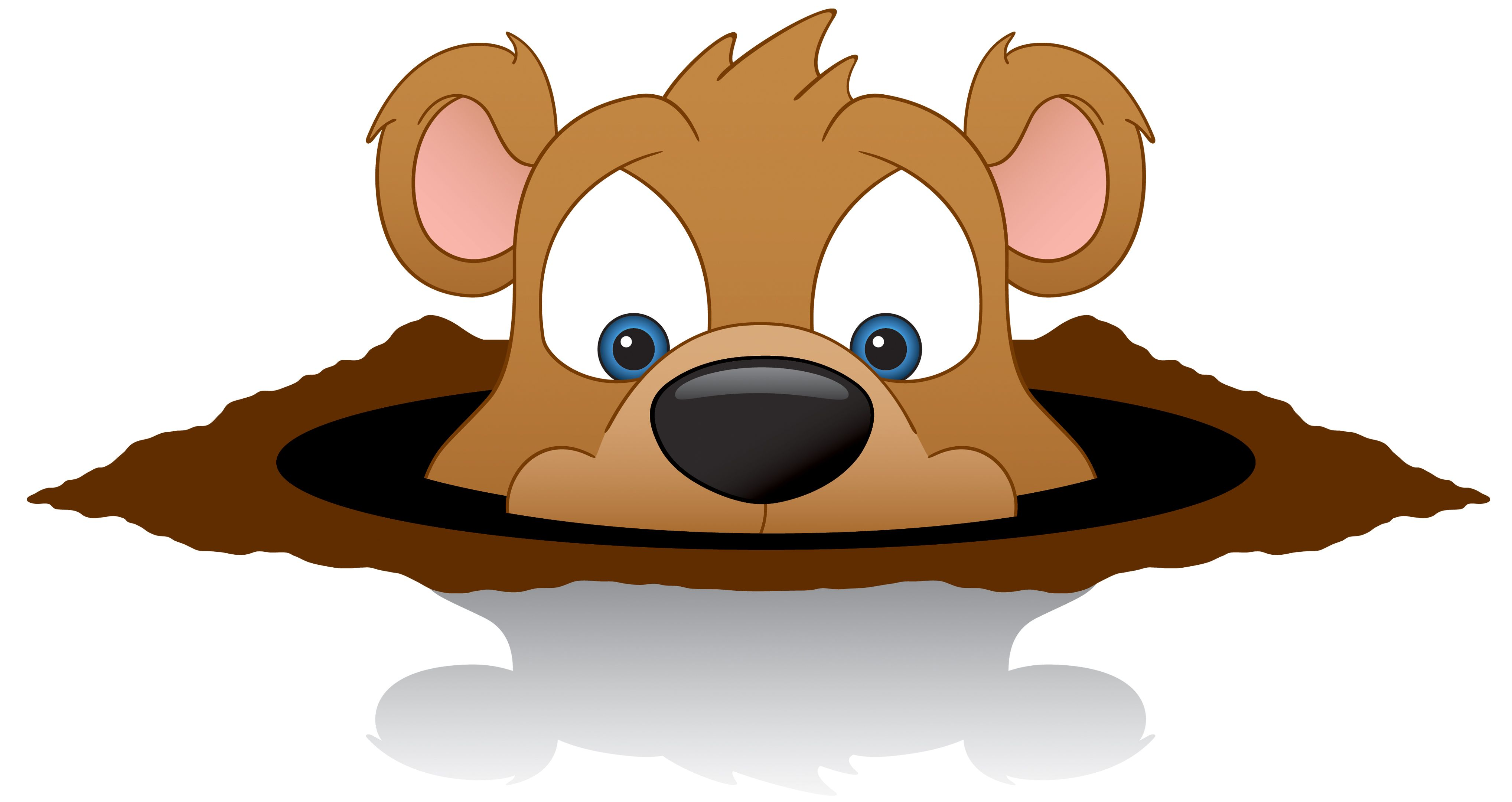 February groundhog. Puscatawny phil clip art