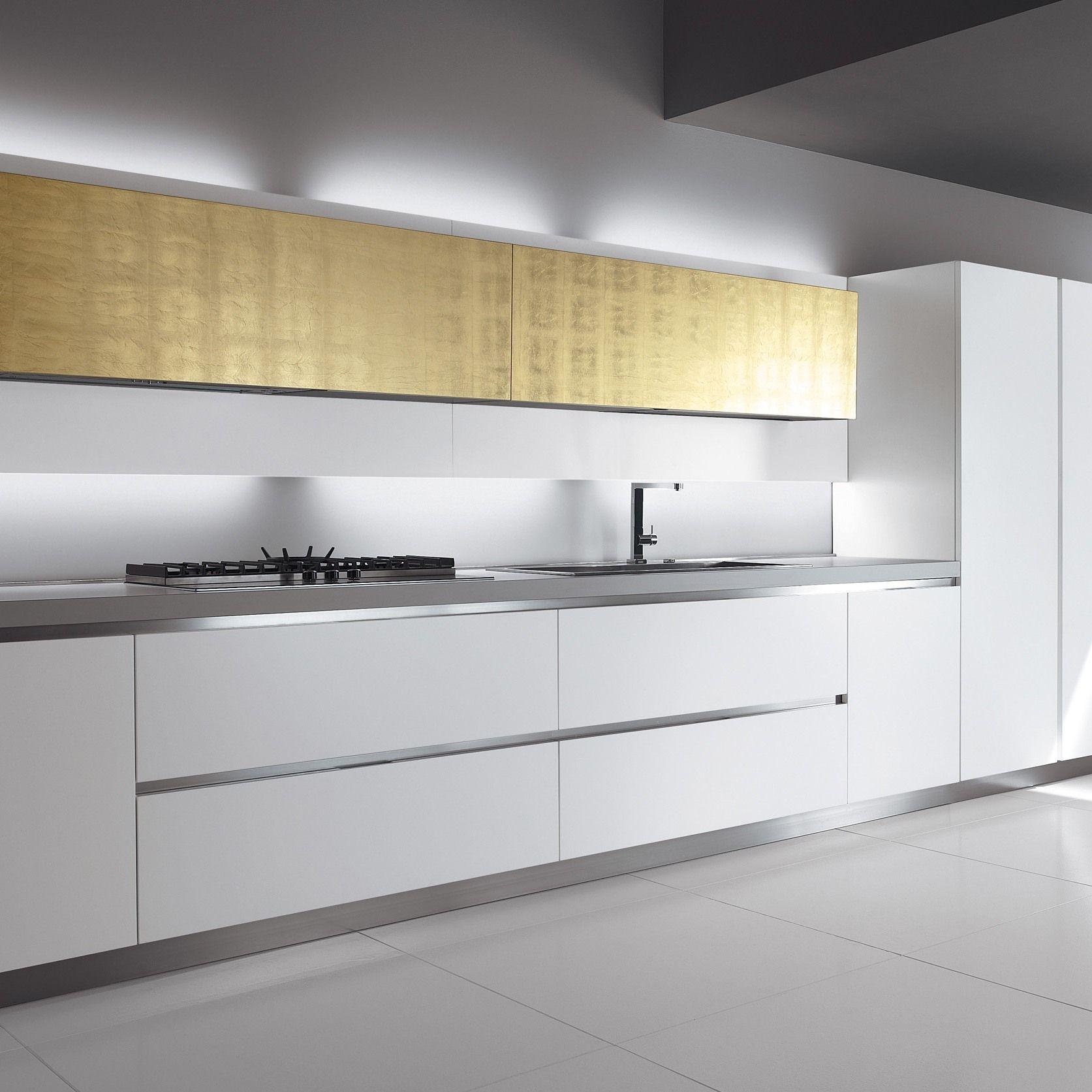 Venezia | Kitchen without handles, Italian kitchen ...