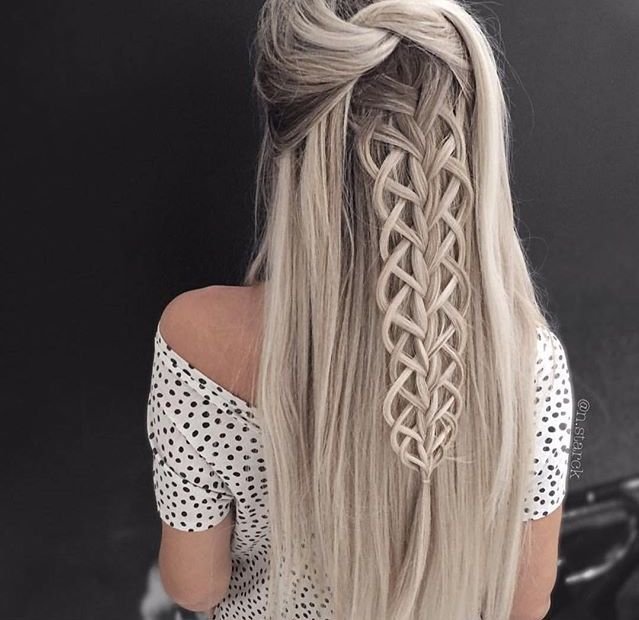 30 Creative And Unique Wedding Hairstyle Ideas: Hair Styles 2017, Unique Wedding