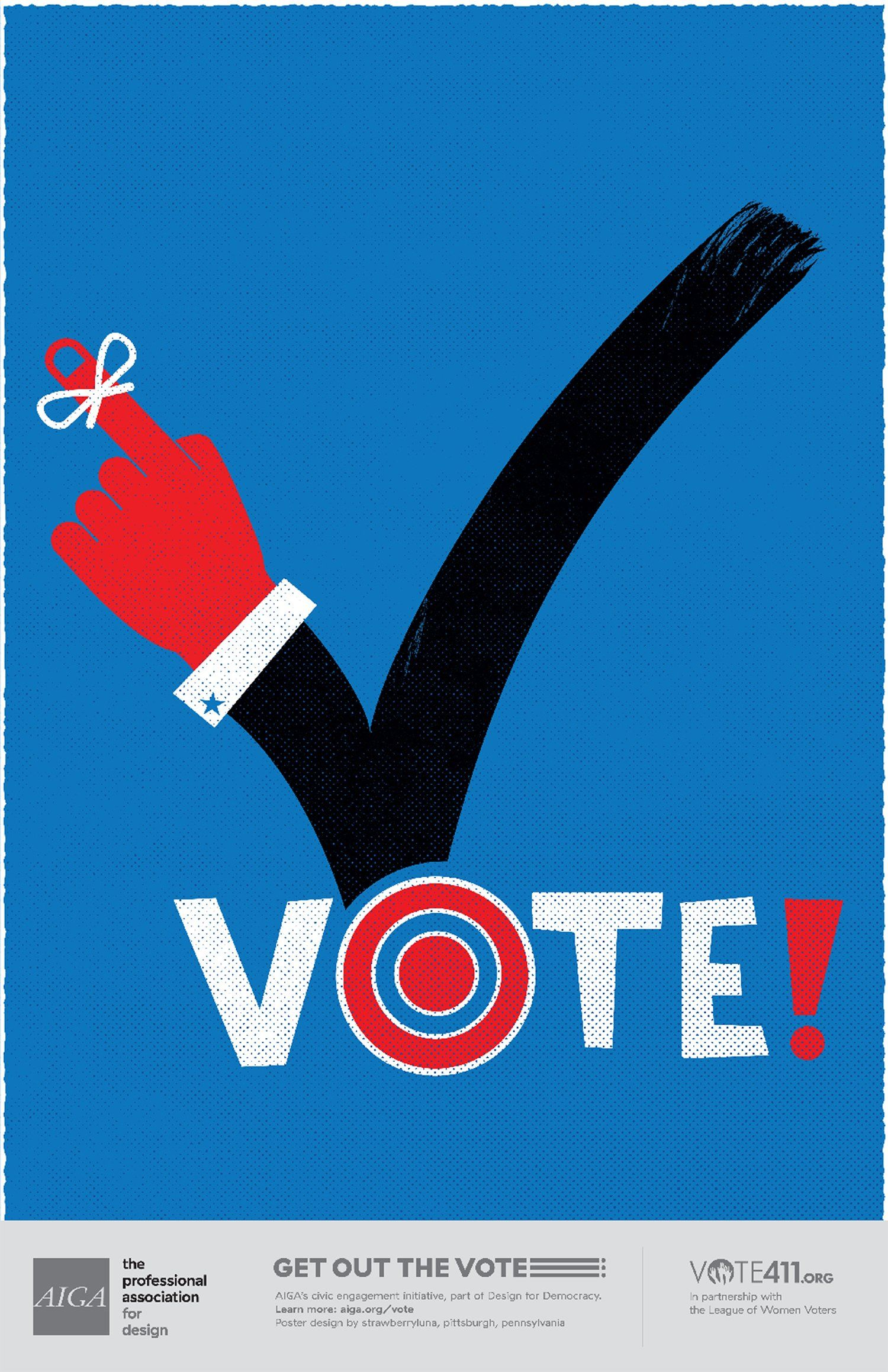 13 Wonderful US Election Posters Designed to Inspire People to Vote