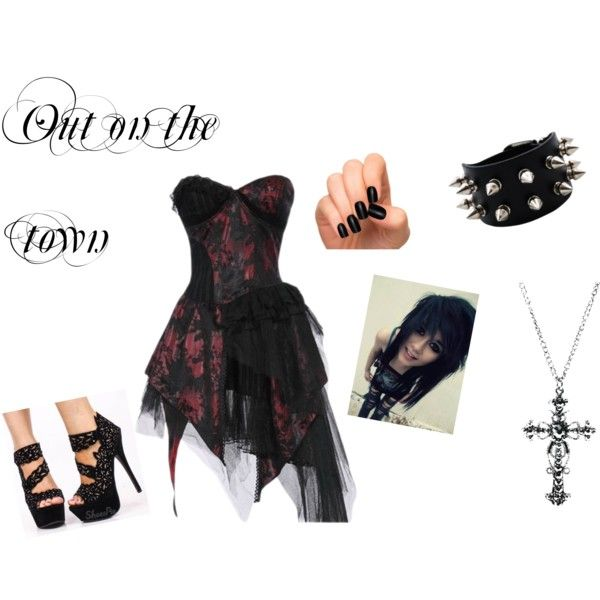 """""""Out on the Town"""" by tiffany98-718 on Polyvore"""