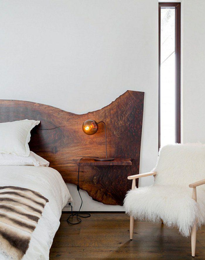 table de nuit suspendue jolie t te de lit avec petit. Black Bedroom Furniture Sets. Home Design Ideas