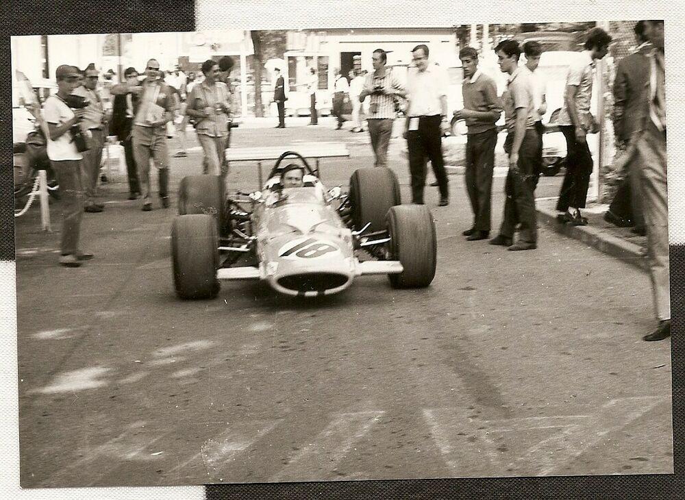 BRUCE McLAREN M7A TEAM ITALIAN GP MONZA 1969 F1 ORIGINAL
