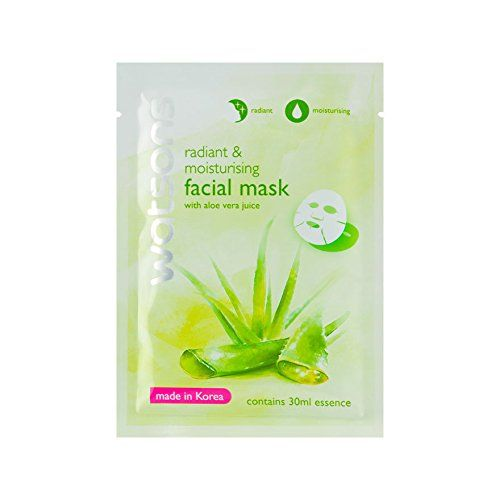 Watsons Radiant Moisturising Facial Mask With Aloe Vera Juice 1