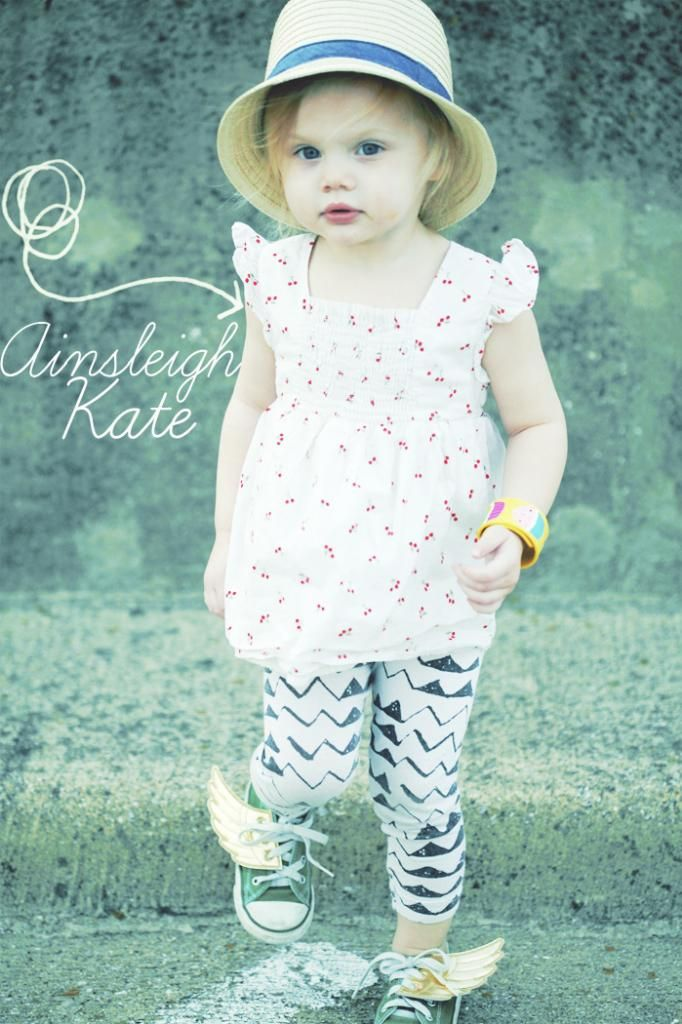gorgeous baby girl. love her style.
