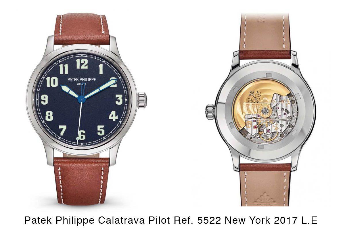 Patek Philippe Calatrava Pilot Watch ref. 5522A-001