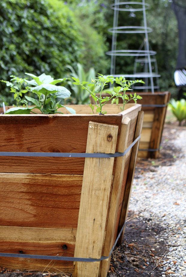 Garden Planning | Eat • Drink • Garden • Santa Barbara, California - Tree box planter - great idea!