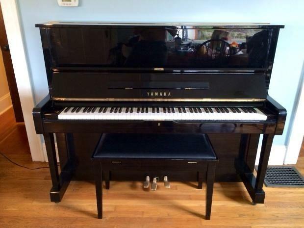 3 996 original vintage 1980 yamaha u1 japanese made for 1970 yamaha upright piano