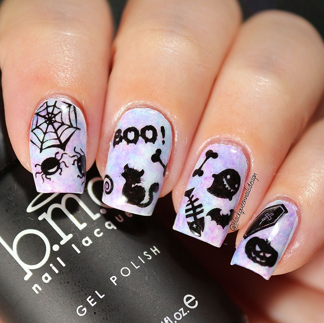 Creative painting nail art design review from bornprettystore.com ...