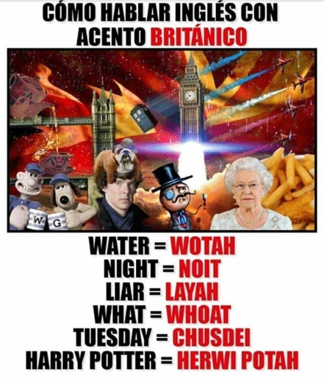 Acento Britanico Acento Britanico Como Aprender Ingles Basico Britanicos