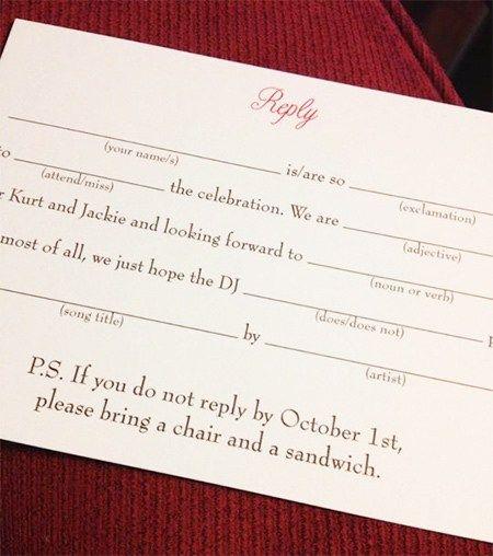 Rsvp Date For Wedding