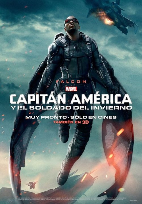 Captain America The Winter Soldier International Falcon Poster
