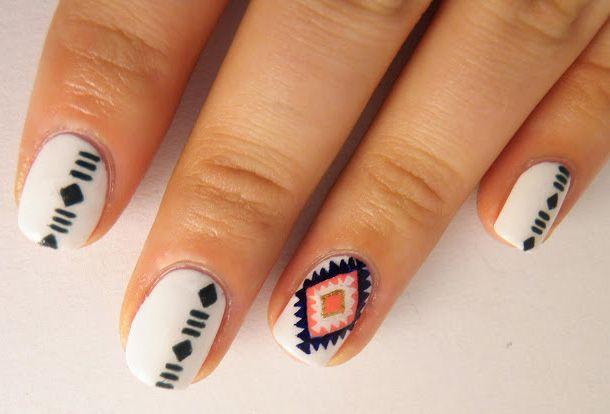 navajo-nail-art-2.jpg (610×414) | Nail art | Pinterest | Nail nail ...