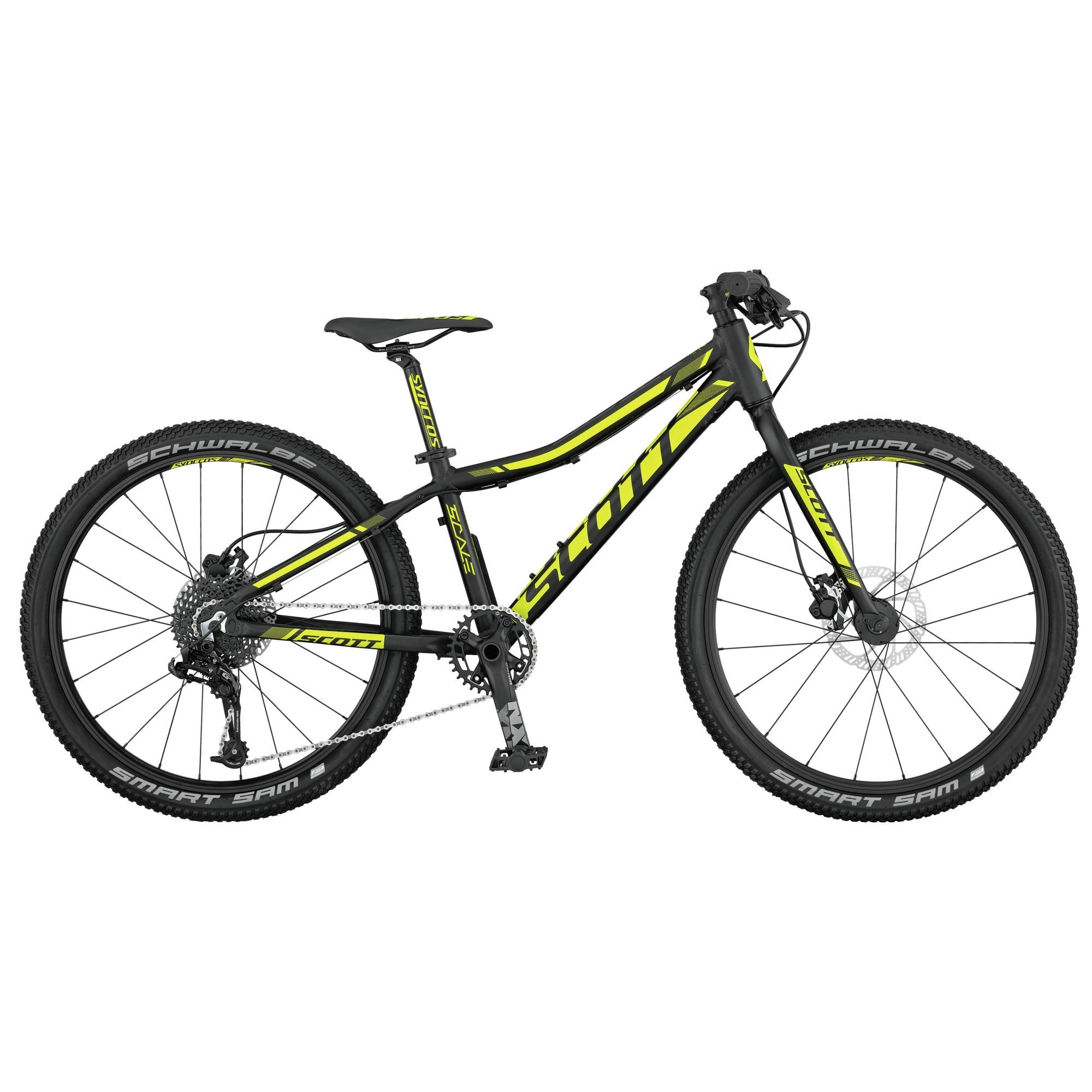 Scott Scale Rc Junior 24 Disc Kids Hardtail Mountain Bike 2017
