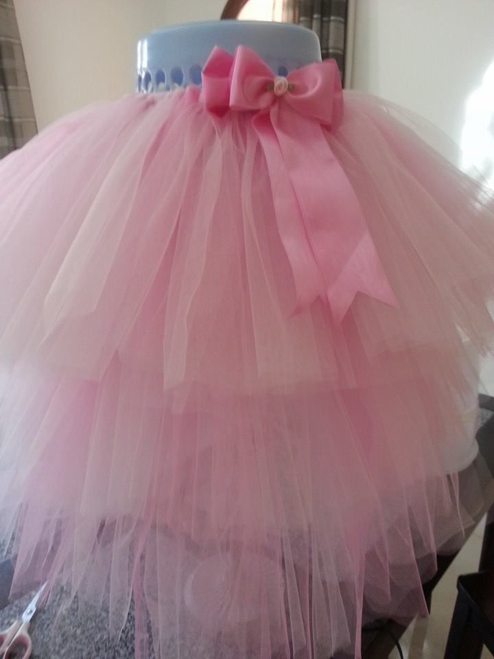 Three Tier Tutu Tulle Skirt Tulle Tutu