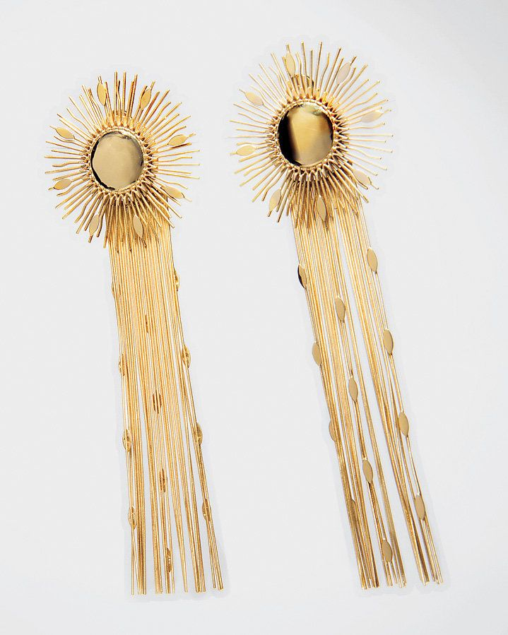 6079dee91 Earrings with Fringe Appeal - Tom Ford, $490, (888) 866-3673. - The New  York Times
