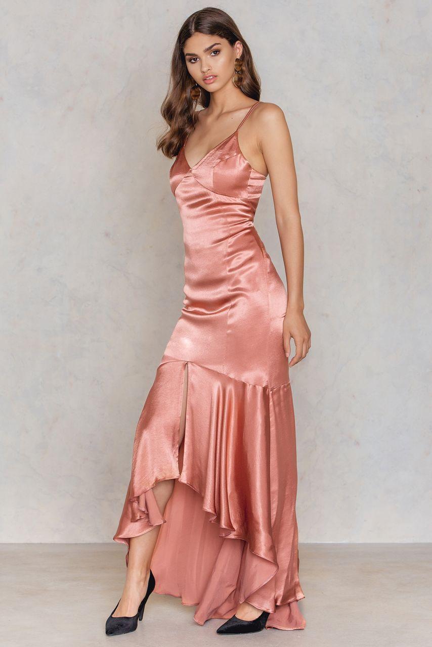 17b43833bf Frill Maxi Dress Cinnamon. Frill Maxi Dress Cinnamon Fashion Clothes Online