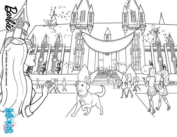 barbie princess charm school coloring pages - Google-søgning ...