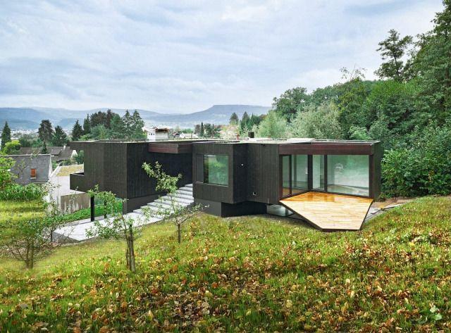 Buchner Bründler Architekten  Neubau Wohnhaus Hubackerweg, Reinach  http://hicarquitectura.com/2013/10/buchner-brundler-architekten-neubau-wohnhaus-hubackerweg-reinach/