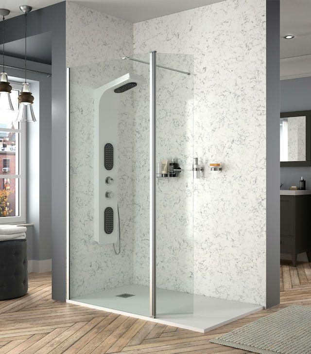La mampara perfecta para los baños más minis