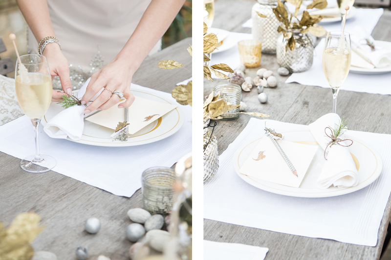 Fascinating White And Gold Table Settings Images - Best Image Engine ...