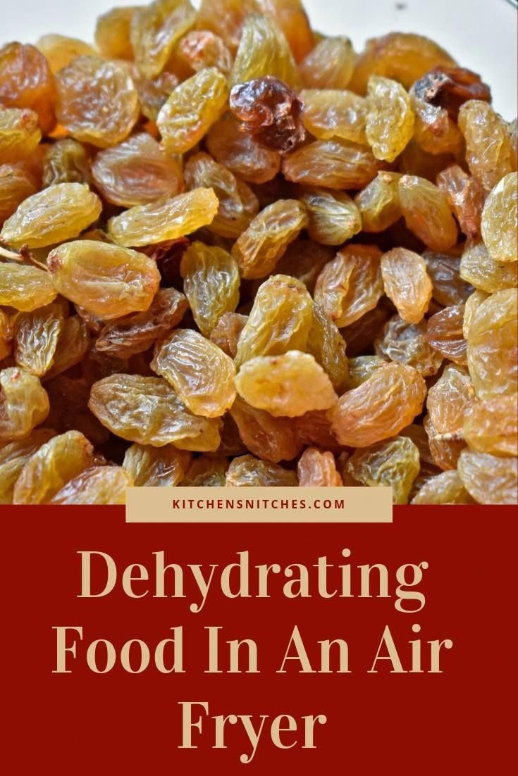 Use your air fryer to dehydrate food and get perfect results!
