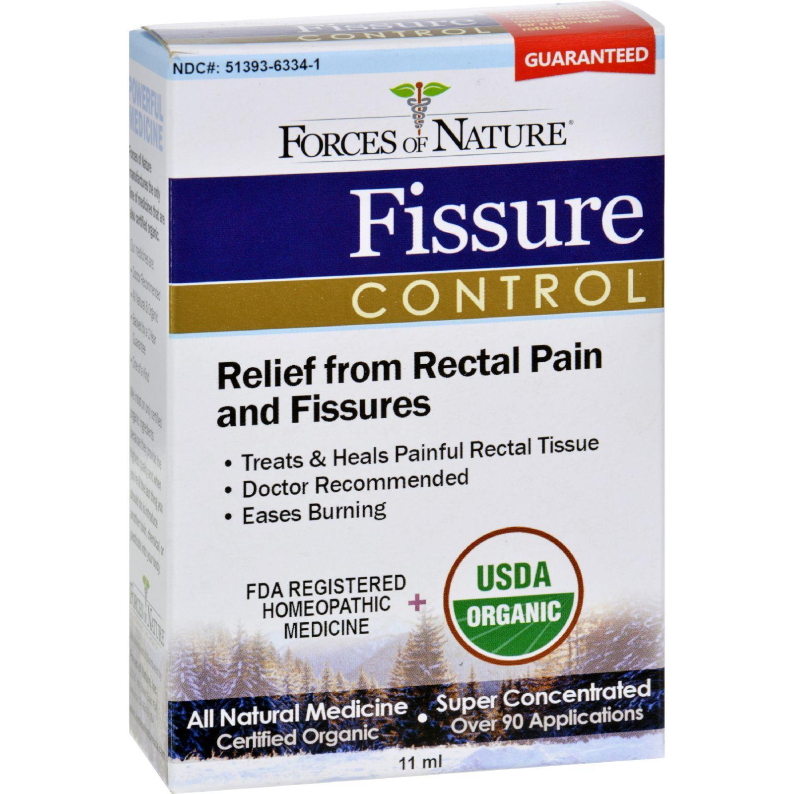 Forces Of Nature Organic Fissure Control - 11 Ml -2971
