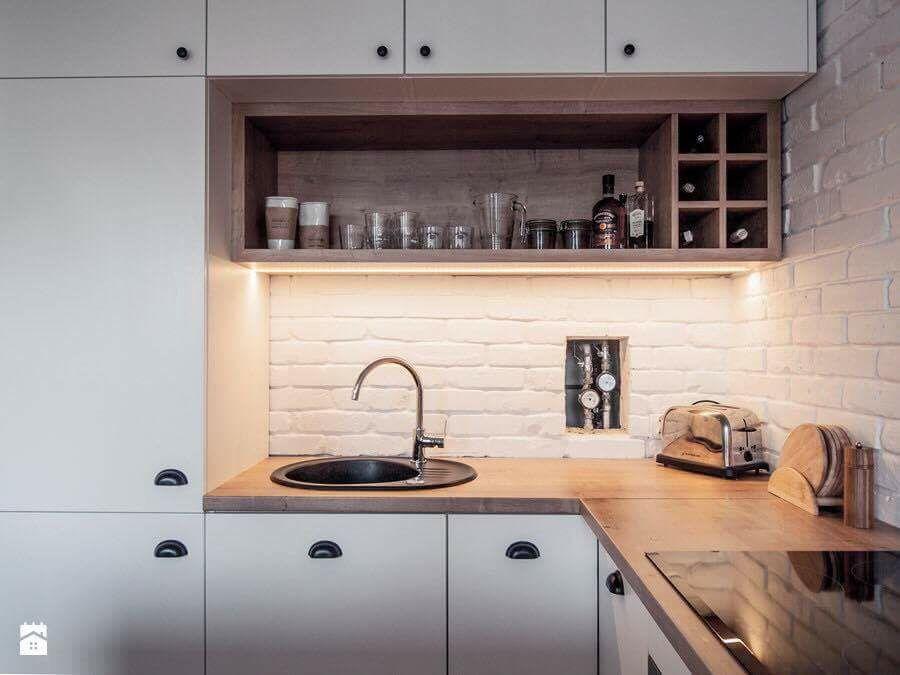 Półka ścienna W Kuchni Kitchen In 2019 Ikea Kitchen