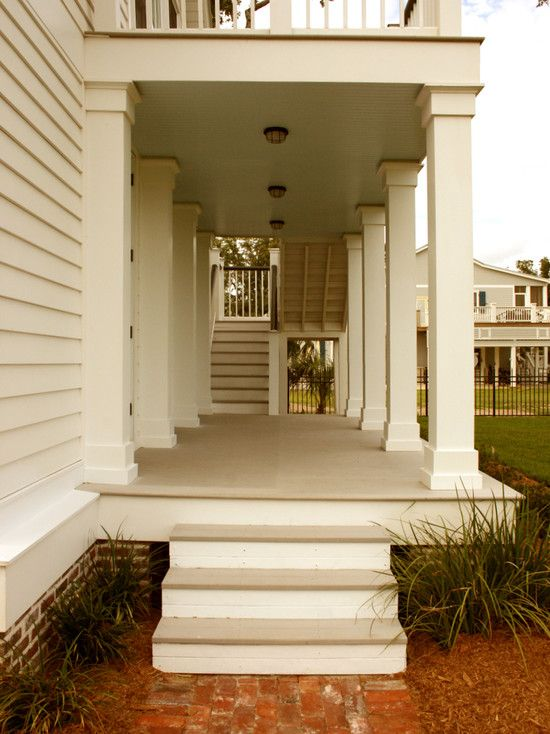 Porch columns to wrap the iron columns and the moulding would just ...