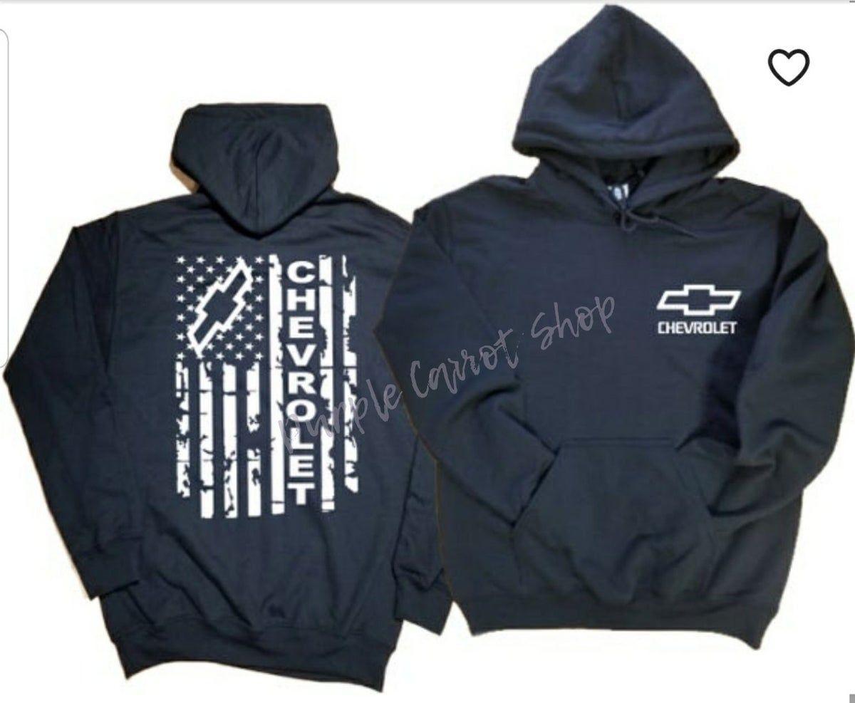 Large Chevrolet Hoodie Sweatshirts Diesel Trucks Hoodies [ 987 x 1200 Pixel ]