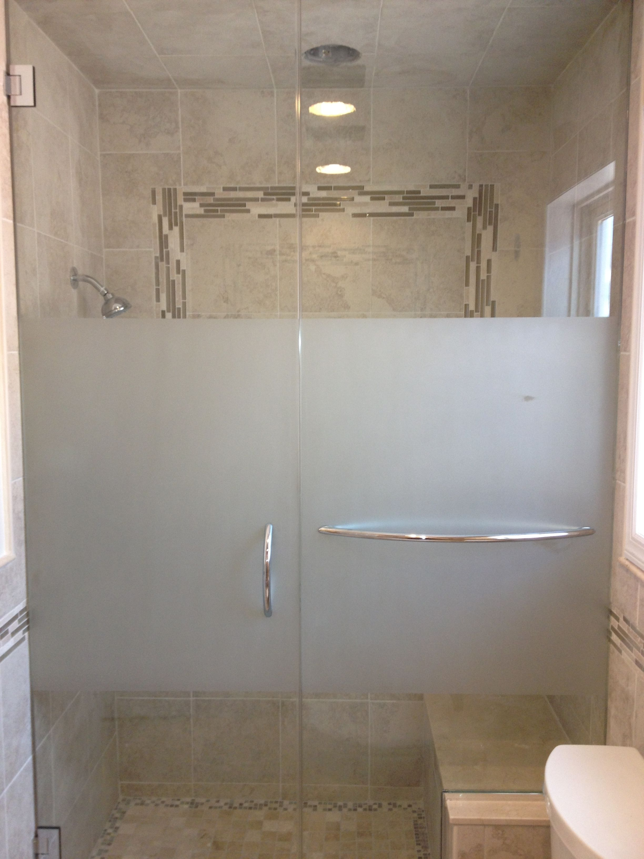 Privacy Film For Glass Shower Doors Etched Glass Shower Doors