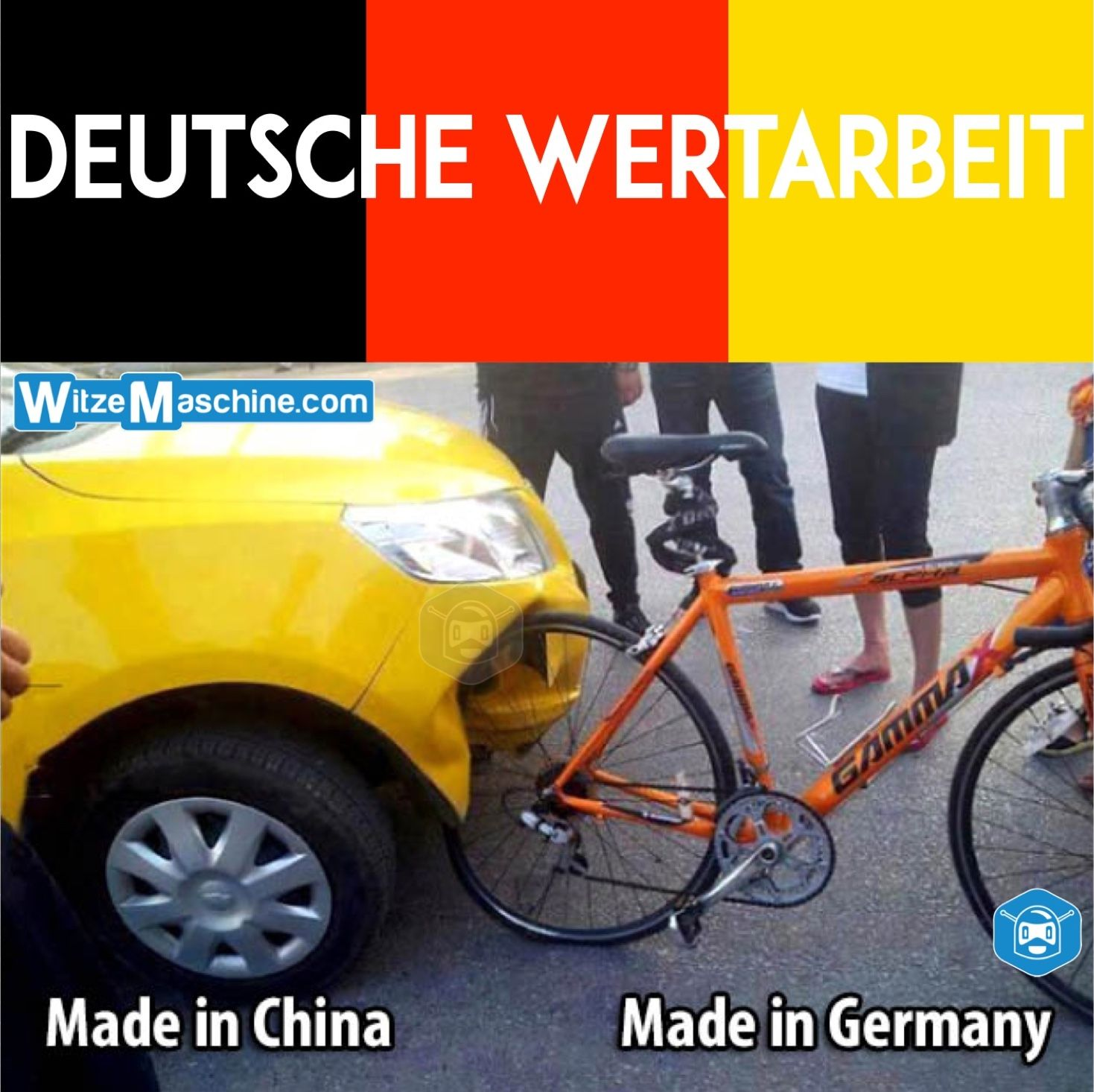 Made In China Vs Made In Germany Qualitat Chinesenwitze