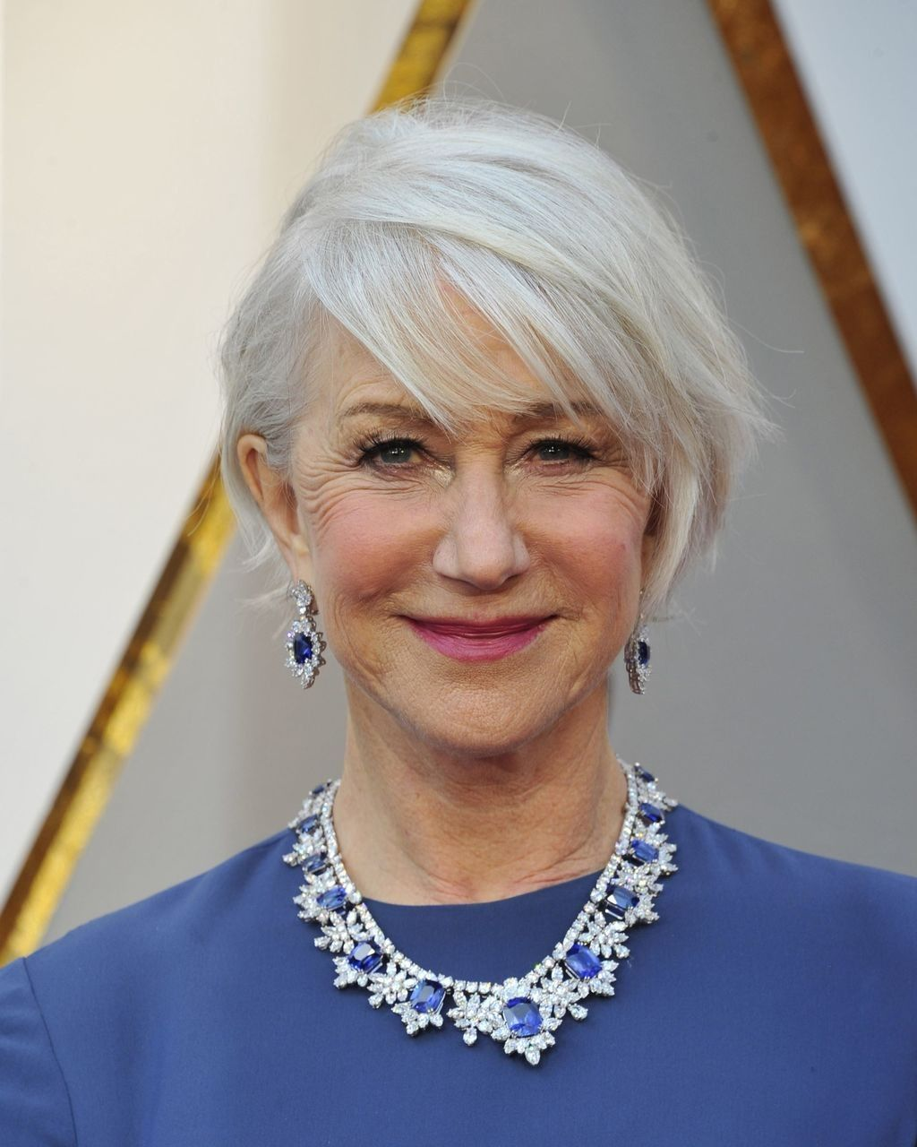 helen mirren at the oscars 2018 | short hair