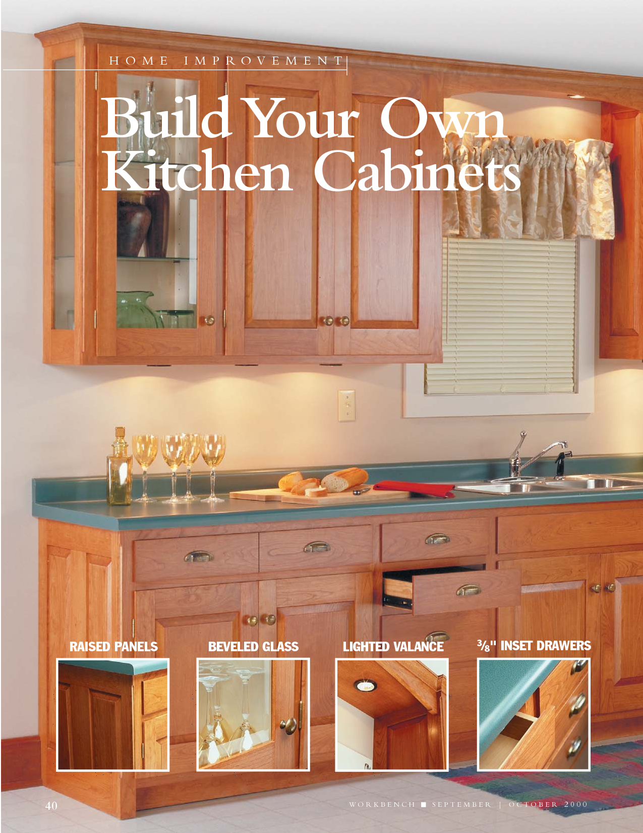 Build Your Own Kitchen Cabinets Plans Learn Step By Step How To Build  Cabinets For Your Kitchen Learn How You Can Build Kitchen Cabinets From  Scratch And ...