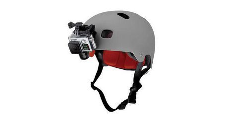 For C:   GoPro Helmet Front Mount for sale at Walmart Canada.