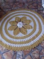Arte Croche :: Por encomenda - Tapete redondo