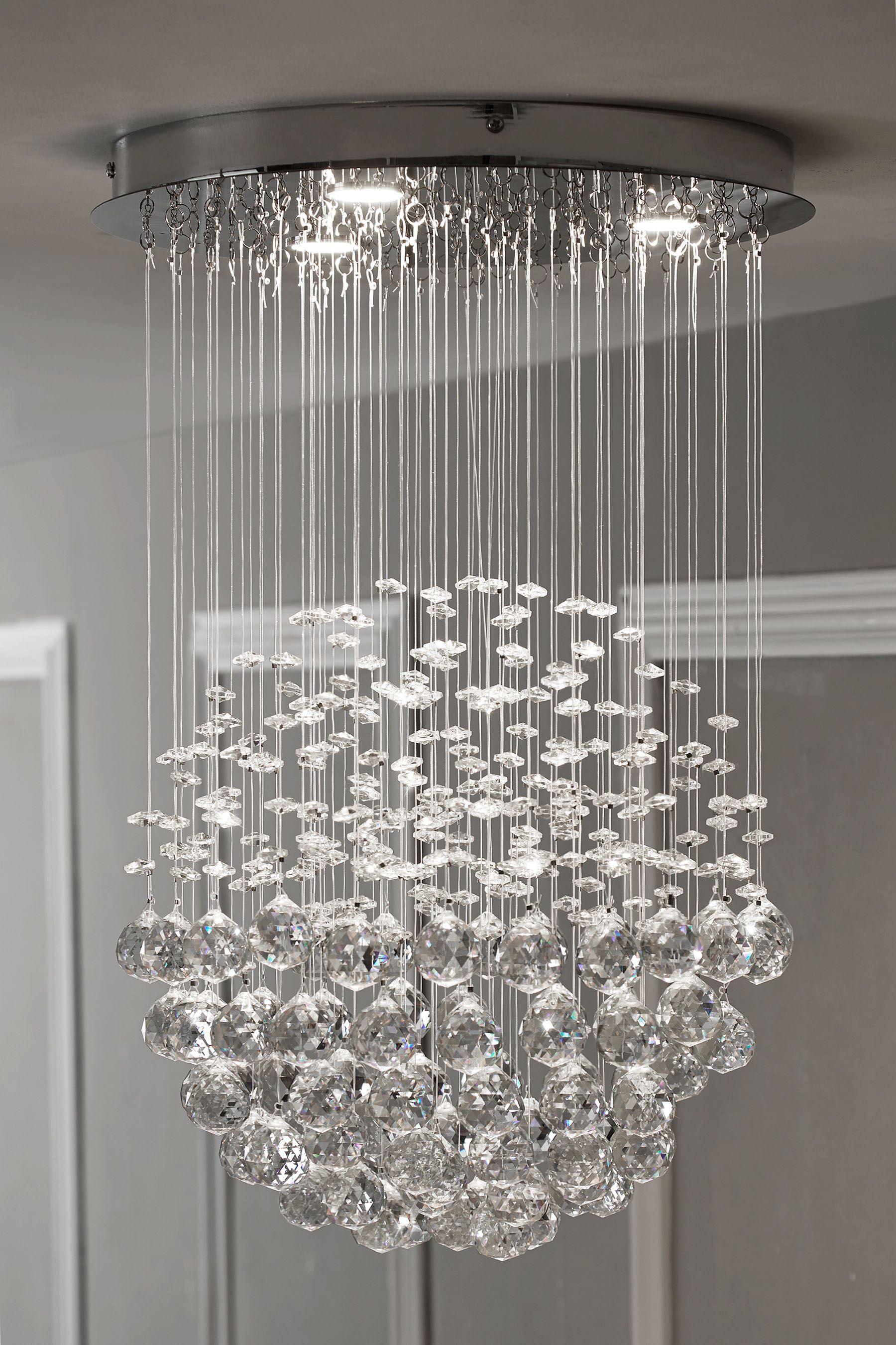 Buy Anastasia Led 3 Light Pendant From The Next Uk Online Shop 3 Light Pendant Pendant Lighting Ceiling Pendant Lights