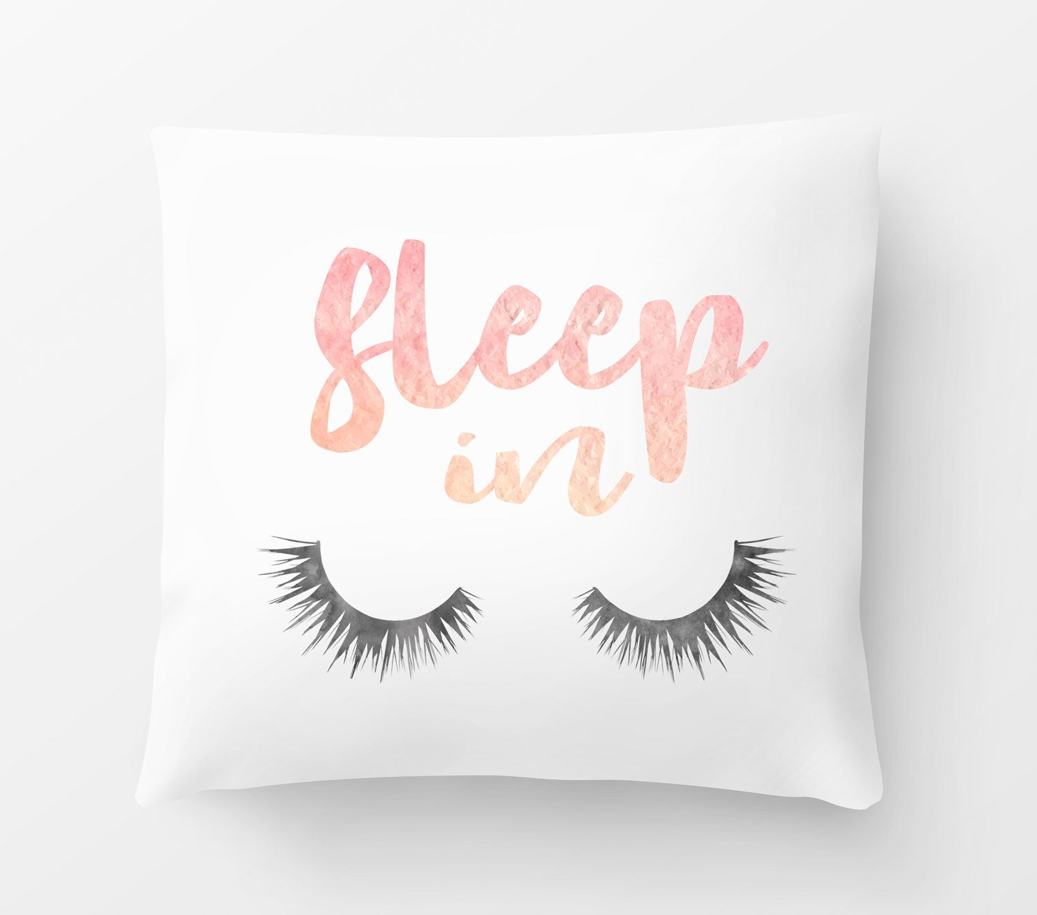 Eye Lashes Sleep Pillow Lash Pillow