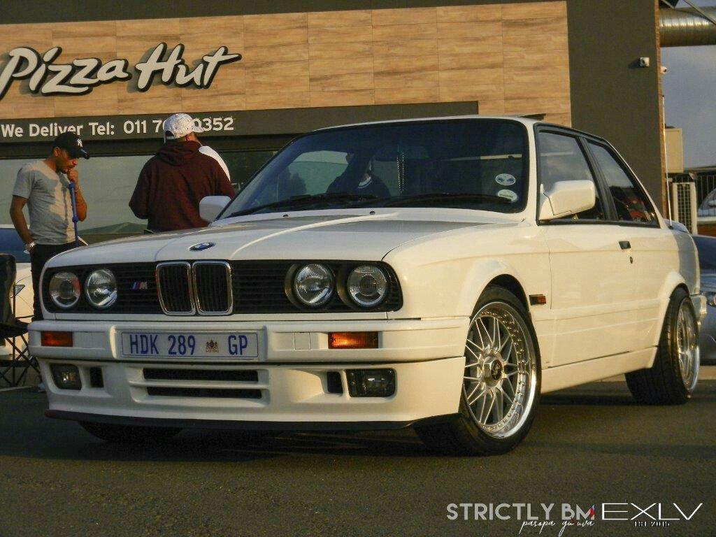 Bmw 325is E30 Evo2 Work Wheels Rezax Alpine White 325is E30 Bmw